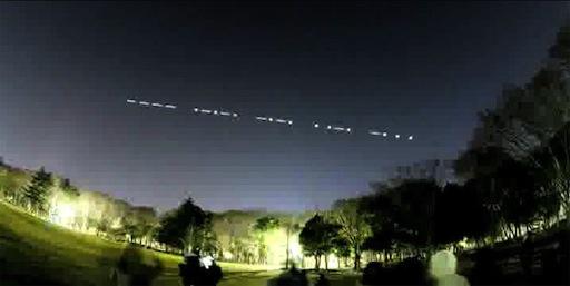 FITSAT-1 Leds sending Morse Code