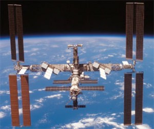 ISS Earth Background