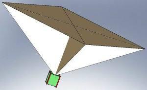 PW-Sat Sail model