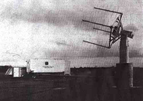 Prospero Ground Station Antennas