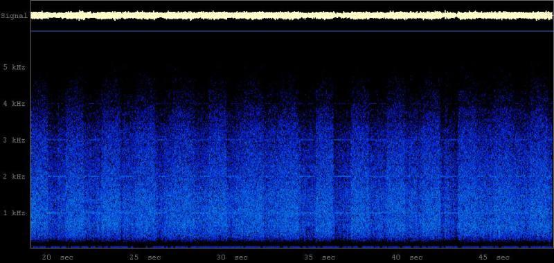Prospero Spectogram 24-10-2011 17:55CEST