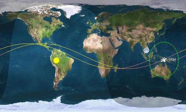 SRMSat Orbit