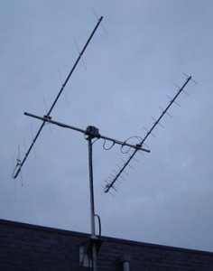 Cue-Dee VHF Cross UHF