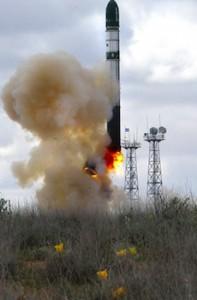 DNEPR Rocket Launch
