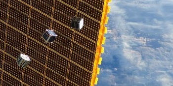 Cubesats leave ISS