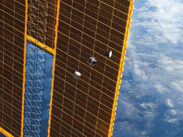 F1 FITSAT-1 TechEdSat Leave ISS