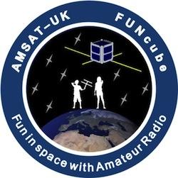 Amsat-UK FUNcube Logo
