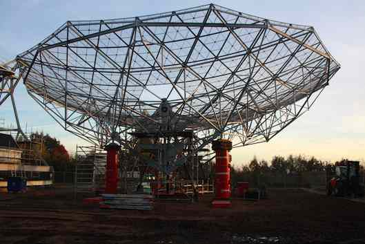 Restorated Dwingeloo Radiotelescope Dish