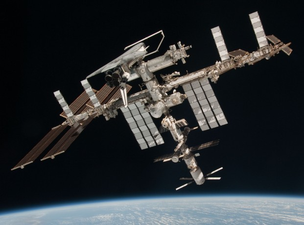 ISS and Shuttle