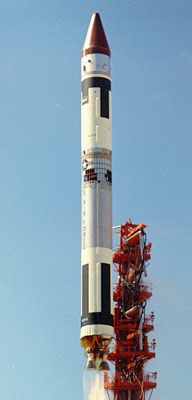 Titan 3A with LES-1