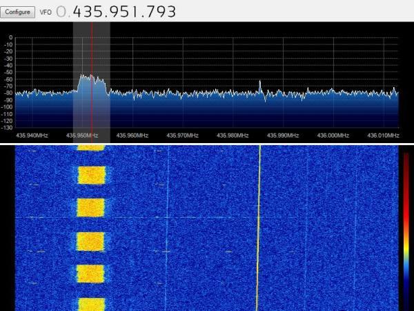 BeeSAT-2 23-04-2013 18:26 UTC
