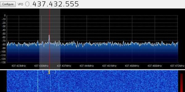 CubeBUG-1 TLE 26-04-2013 12:20 UTC