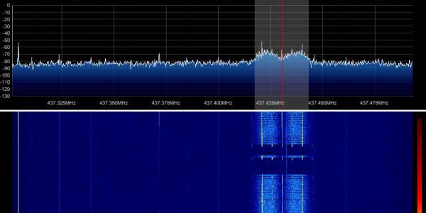AAUSat-3 TLM 12-05-2013 17:03 UTC