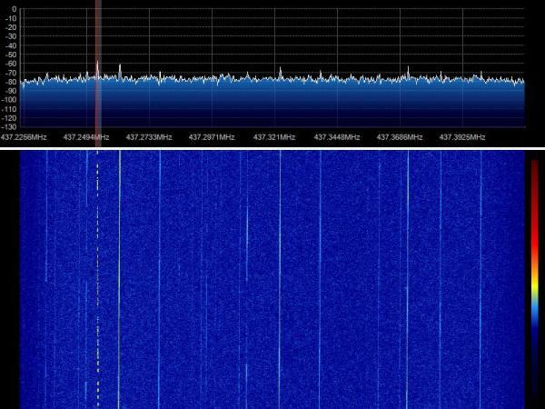 ESTCube-1 TLM 07-05-2013 09:15 UTC