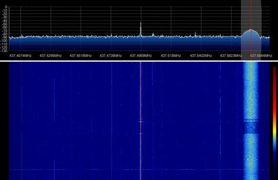 STRaND-1 SDR 04-08-2013 18:03UTC-01