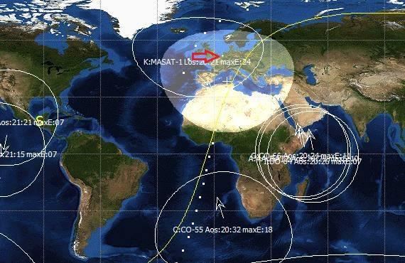 STRaND-1 SatPC32 04-08-2013 18:03UTC