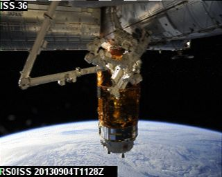 ISS SSTV 04-09-2013 11:28UTC
