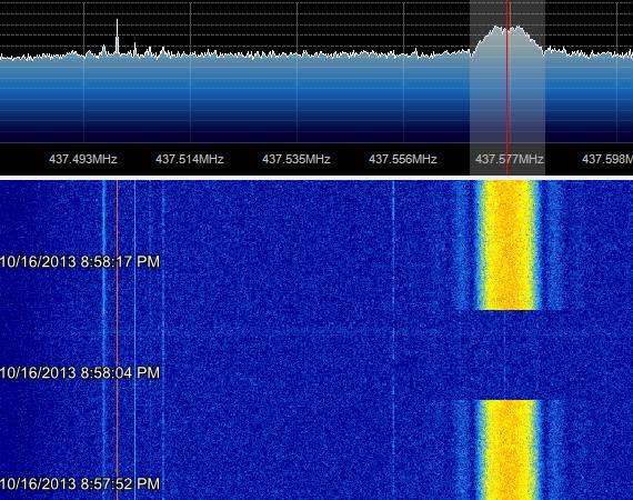 STRaND-1 SDR 16-10-2013 18:55UTC