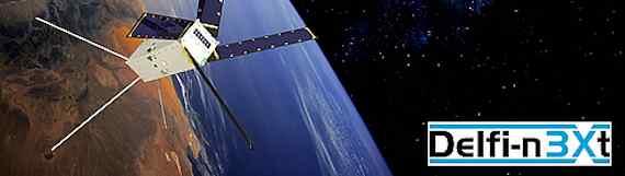 Delfi-n3Xt Earth