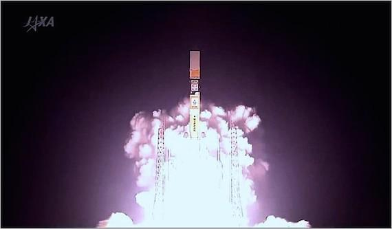 Jaxa H2A Launch
