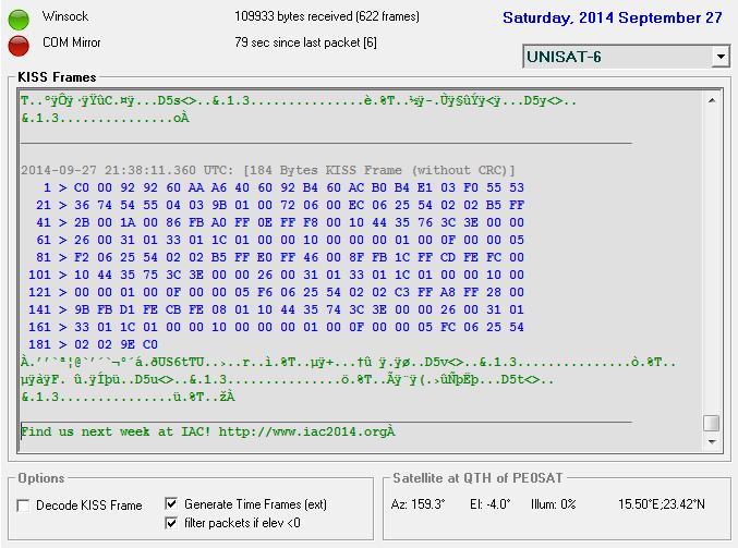 UniSAT-6_TLM_27-09-2014_2126UTC
