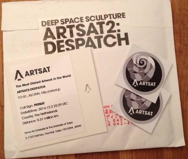 ARTSAT2-QSL
