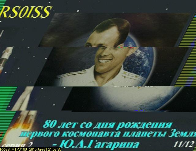 ISS SSTV Transmissions | Amateur Radio – PEØSAT