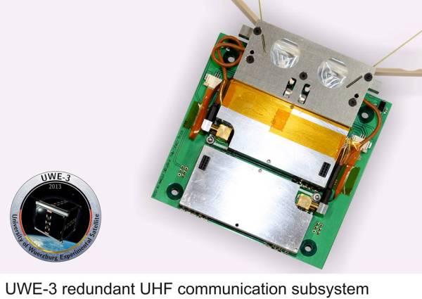 UWE-3 redundant UHF SubSystem